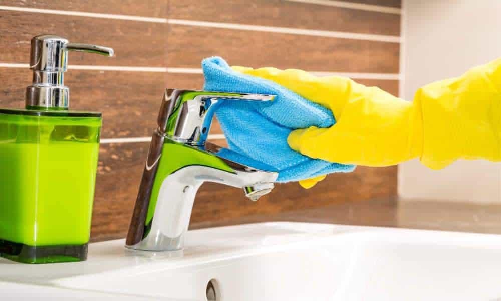 Schoonmaaktips voor de badkamer