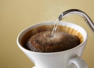Schoonmaken met koffie