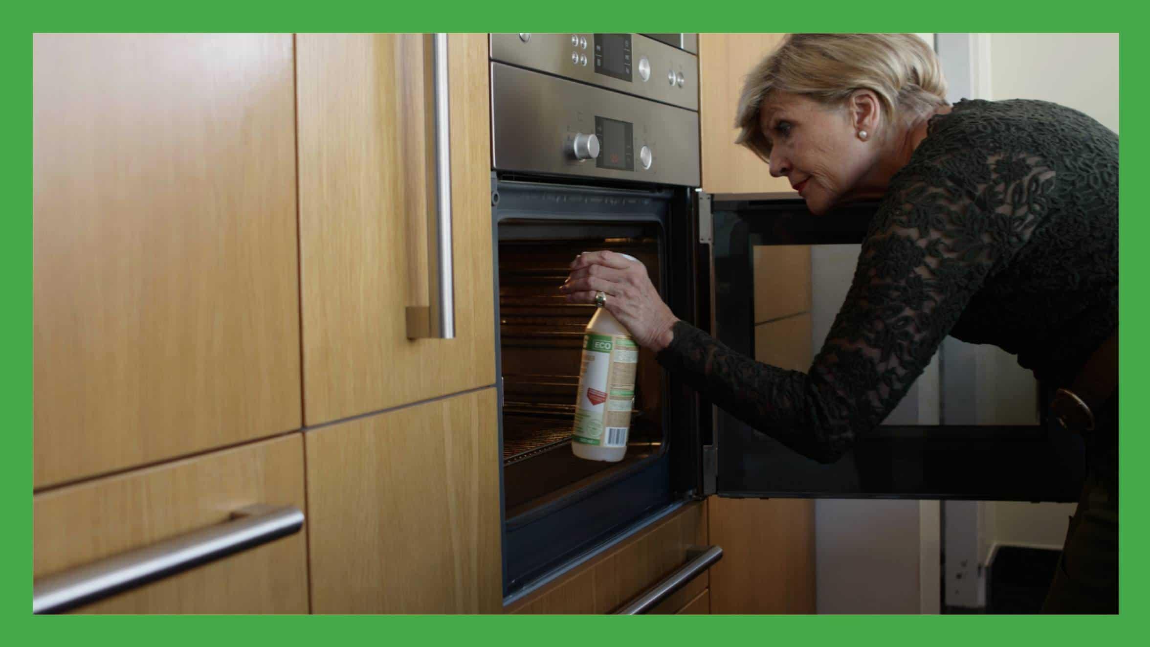 Oven schoonmaken met hg eco